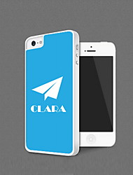 Personalized Paper Plane Design Protection Shell for iPhone 5
