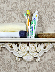 Antique Ivory européenne suspendus étagère de rangement