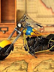 """15 """"Retro Style Moto Tipo Giallo Metallo da collezione"""