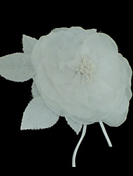 Fabric Flowers Wedding Headpieces