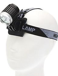 Lampes Torches LED / Lampes de poche LED 4.0 Mode 3600 Lumens Cree XM-L T6 18650Camping/Randonnée/Spéléologie / Usage quotidien /