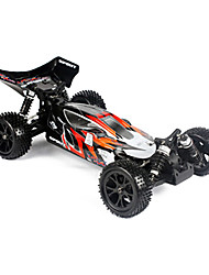 1/10 4WD Brushed Geist RC Buggy RTR (Schwarz-Rot)