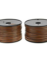 Reprapper 3D Printer Consumables Wood Color (Optional Wire Diameter and Material) 1 Piece
