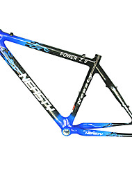 MB-NT102 MTB Bicycle Full Carbon Black+Blue Frame with NEASTY Decal