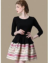 TS Vintage Petit rageur Stripe Bush robe