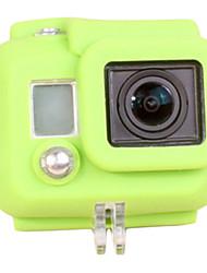 Funda de Silicona para GoPro HD Hero 3 - Verde