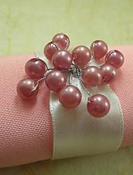 Perle Rond de serviette, acrylique