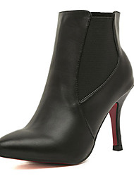 Kimberly Pointed Toe Martin Ankle Boots(Black)