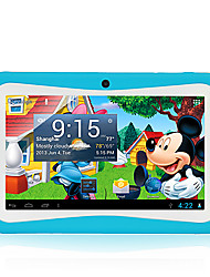 """7"""" A13 Tablet PC Android 4.1 MID 512M 4G Dual Camera Children Kids Blue Wifi"""