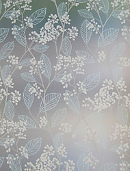 Graceful Country Floral Clusters Window Film