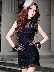 Patrón Rose elegante YSE vestido de fiesta Delgado
