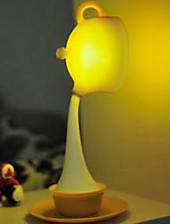 Работа в команде Желтый чай Порт Настольная лампа