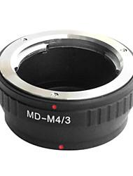 Lente EMOLUX Minolta MD MC para Micro 4/3 Adaptador E-P1 E-P2 E-P3 G1 GF1 GH1 G2 GF2 GH2 G3 GF3
