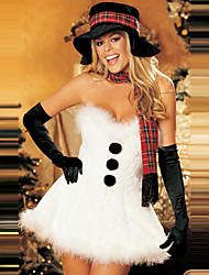 Das mulheres brancas de Furry Christmas Costume