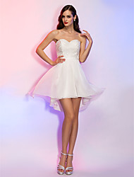 TS Couture® Cocktail Party / Homecoming / Graduation / Holiday Dress - Short Plus Size / Petite A-line / Princess Strapless / Sweetheart Asymmetrical