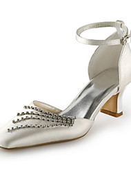 Women's Wedding Shoes D'Orsay & Two-Piece Heels Wedding/Party & Evening Black/Purple/Ivory/Silver/Gold/Champagne/Blue/Pink/Red/White