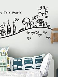 Пейзаж мира в сказки наклейки стены