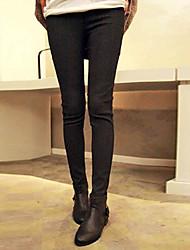 Amisz Classic High Waist Slimming Pants(Black)
