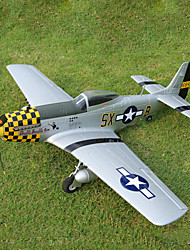 Top RC Hobby P-51D 4CH EPO RC Airplane RTF (Yellow)