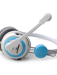 TONSION T61 moda cuffie on-ear con microfono per PC / iPhone / HTC / Samsung