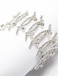 Women's Chain Bracelet Cubic Zirconia/Alloy Cubic Zirconia