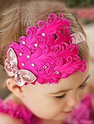 Girl's Butterfly Flower Headband