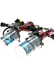 2pcs de voiture H4 / H H4-2 HID xénon ampoules Lampes AC / DC 12V55W (4300-12000K facultatif)