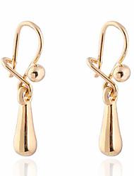 Boucles d'oreilles en or 18 carats Zircon ER0468 de Yueli femmes