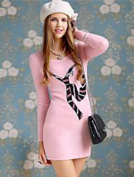 Pink Doll Personas imagen Imprimir mini vestido