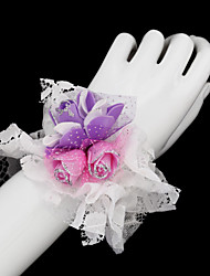 Dentelle de mariage / Parti poignet Fleur