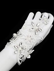 Wrist Length Glove Bridal Gloves/Party/ Evening Gloves