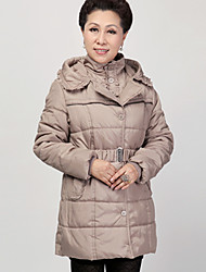 Women's Coats & Jackets , Polyester Casual/Work Yitang