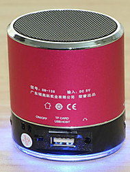 SENIC SN-138 Portable Rechargeable Mini Speaker with TF Card Slot (Optional Colors)