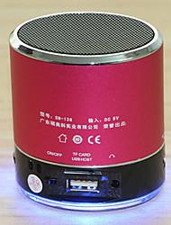 SENIC SN-138 Mini Speaker Portátil recarregável com TF Slot para cartão (cores opcionais)