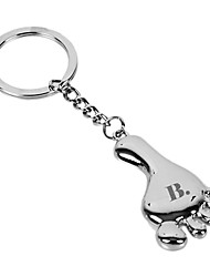Personalized Keychain - Foot