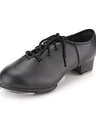 Leatherette Upper Tap Dance Shoes for Adult