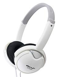 DANYIN DT-2203 Cuffia stereo-Orecchio con il Mic e remoto per PC / iPhone / iPad / Samsung / iPod