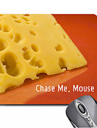 Personalized Gift Cheese Pattern Gaming Optical Rectangle Mouse Pad (20.5x18cm)