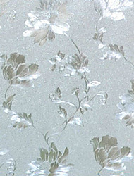 Country Floral Blossoms Pattern Window Film