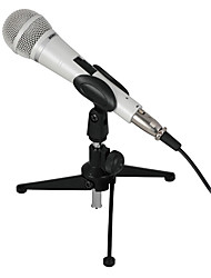 somic microfono mh208 a condensatore con supporto e adattatore 6,3 millimetri