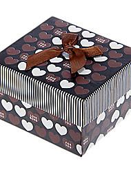 Bowknot Dekor Sweet Heart Pattern Cubic Watch Box (verschiedene Farben)