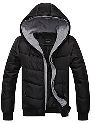 Men's Fashion Casual Cotton Zipper Winter Coat