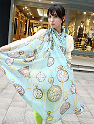Alin-kiss Fashion Chiffon Scarf(SJ043)