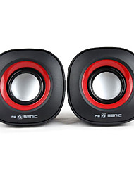 SENIC SN-458 Mini Speaker Portátil para Laptops / PC (1 par)