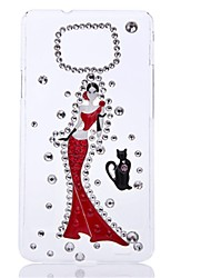 WWX Women's Vintage Girl Cell phone Case For Samsung9100 WWX0075