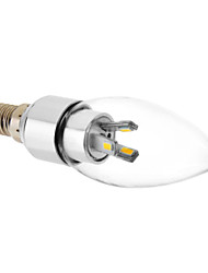 E14 6x5730SMD 3000K Warm White Light LED Candle Bulb (220V)
