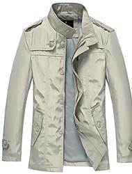 Men's Coats & Jackets , Polyester Casual Lucassa