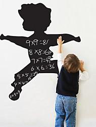 Blackboard Wall Sticker, Removable, Jumping Boy
