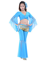 Belly Dance Outfits Women's Training Polyester Natural