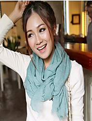 BY Fashion Solid Color Print Scarf(Screen Color)